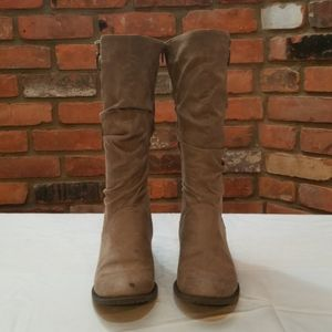White Mountain Tan Boots